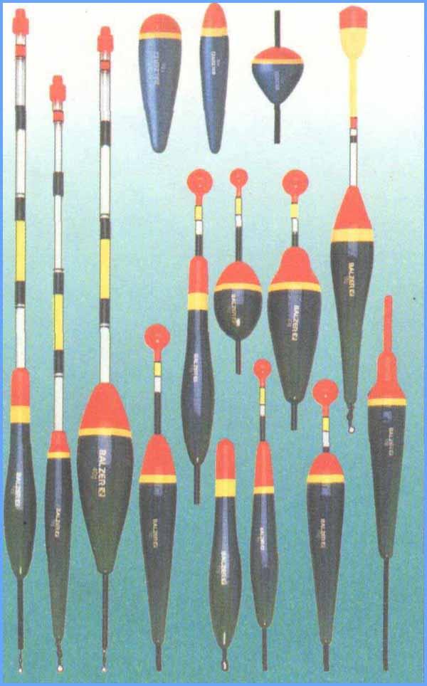 фото все виды рыболовных поплавков